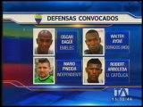 Los 29 convocados para enfrentar a Argentina y Bolivia