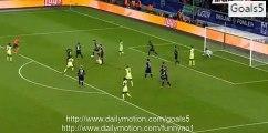 Sergio Agüero Goal Monchengladbach 1 - 2 Manchester City Champions League 30-9-2015