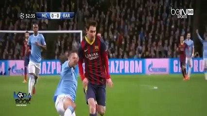 Manchester City vs FC Barcelona 0-2 All Goals - Full Champions League - 18.02.2014