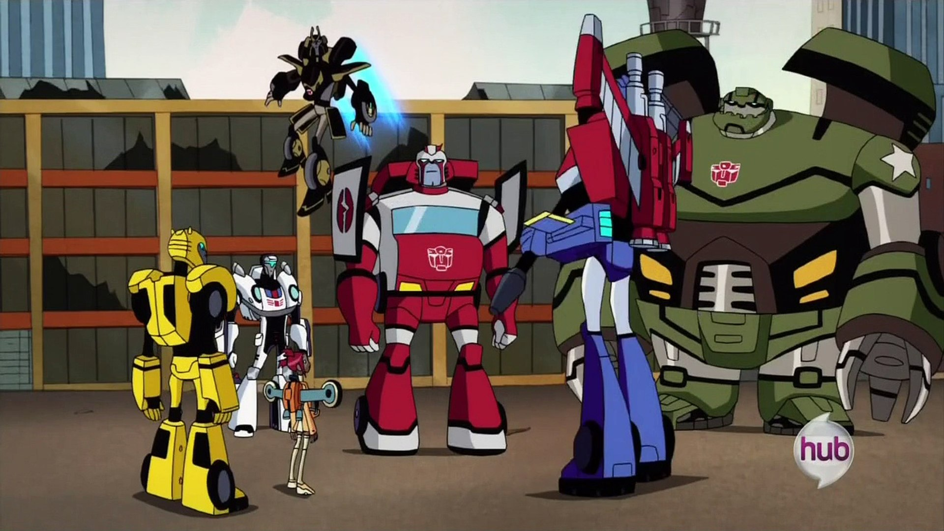 Transformers Animated End Part 2
