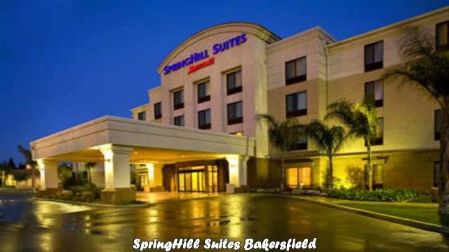 SpringHill Suites Bakersfield Best Hotels in Bakersfield California