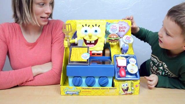 Spongebob Talking Krabby Patty Maker Nickelodeon Toys SpongeBob SquarePants