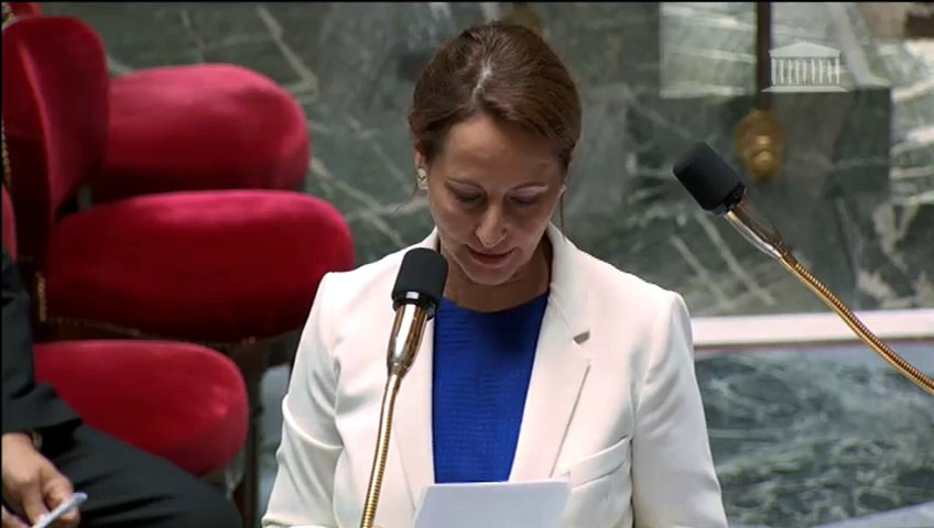 Déchets en Corse: S. Royal répond à une question au Gouvernement