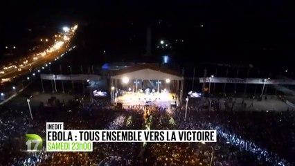 Le concert Ebola, tous ensemble vers la victoire sur D17 à 23h