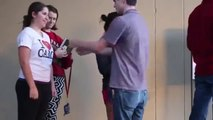 Kissing Prank Force My Fists Apart Kissing Sexy Girls Kissing Pranks 2015