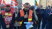 Manifestation des retraités devant la préfecture