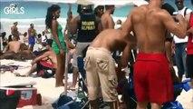 Sexy Brazilian Girls On The Beach 2014 World Cup Brazil 2014