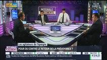Les agitateurs de l'épargne (2/3) : Jean-François Filliatre VS Jean-Pierre Corbel : Pour ou contre le retour de la prévoyance - 01/10