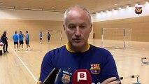 FCB Futbol Sala: Marc Carmona, prèvia FCB Lassa - Jaén