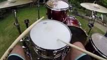 Drum solo filmed as you were on the drums by Red Hot Chili Peppers Chad Smith Drummer