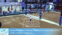 Combiné, premier tour / Krugovi, 1° Kolo, Sport Boules, Mondial Seniors, Rijeka 2015