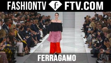 Ferragamo Spring/Summer 2016 Runway Show at Milan Fashion Week   MFW   FTV.com