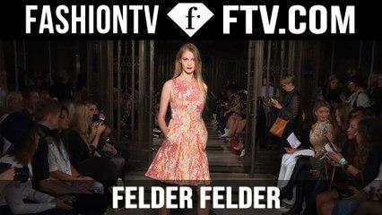 Exclusive Felder Felder Spring 2016 Runway Show London Fashion Week   LFW   FTV.com