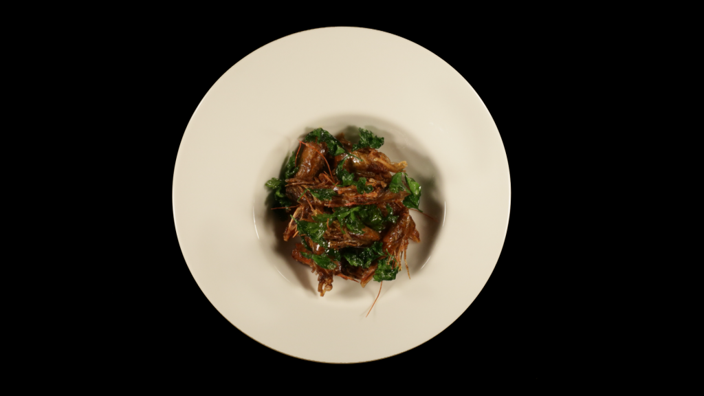 Masseria: Fried prawns in XO sauce