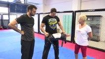 LE COACH Vincent Parisi Champion du Monde de Jujitsu Combat invite sur BeiN Sports le Comédien GIL ALMA.