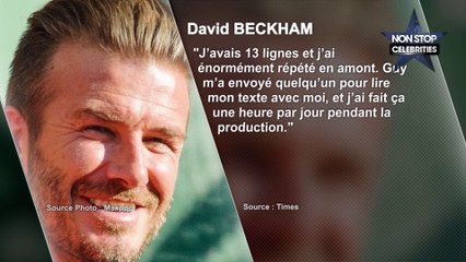 David Beckham bientôt au cinéma ?