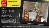A vendre - Maison - ACHERES (78260) - 5 pièces - 120m²