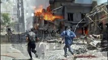 Syria conflict  Russia launches fresh strikes(1)