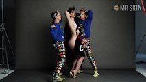 Katy Perry in Katy Perry and Jeremy Scott for Moschino Fall/Winter 2015