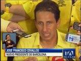 José Francisco Cevallos gana la Presidencia de Barcelona SC