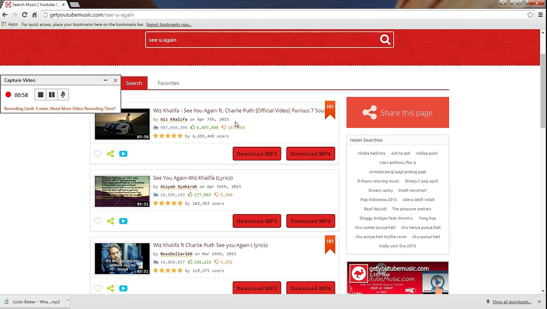 How To Download  mp3 or mp4 Music From Youtube com