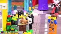 LEGO MOVIE Double Decker Couch Build +Joker DC Villains Chase LEGO Emmet! By HobbyKidsTV