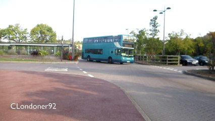 Buses at Bluewater Shopping Centre 1st October 2015