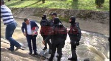Vrasja e dyfishtë, gjendet arma e krimit në lumin Lanë- Ora News- Lajmi i fundit-