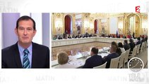 François Hollande reçoit Vladimir Poutine à Paris