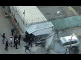 Moscow gang warfare - thugs unleashed after SUV smashes barrier