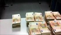 Pyrénées-Orientales : 1,9 million d'euros en liasses découverts  lors d'un contrôle douanier