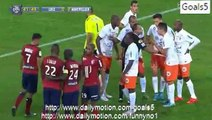 Lille 2 - 0 Montpelier All Goals and Highlights Ligue 1 2-10-2015