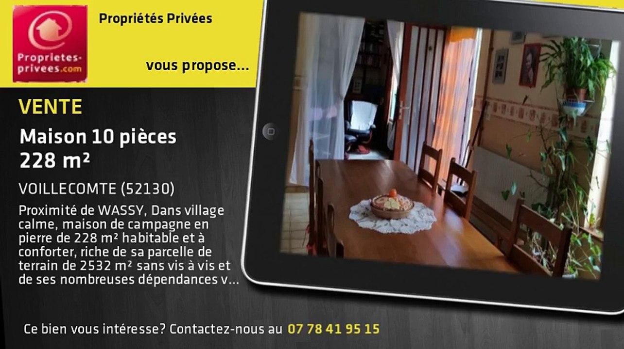 A vendre - Maison - VOILLECOMTE (52130) - 10 pièces - 228m²