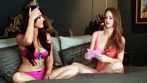 Sunny Leone Bikini hot interview Check interviewer as well super hot