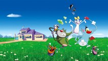 Oggy and the Cockroaches 2015 Oggy pursuit of insects HD
