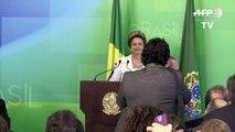 Brésil: la présidente Dilma Rousseff annonce un profond remaniement ministériel