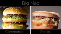 McDonalds Ads vs The Real Thing