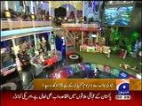 Shahid Afridi's Family in Geo Inam Ghar