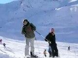Skiing Courchevel Feb 2007