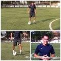 Drible: elástico no ar / Ronaldinho Air Elastico (football skills)