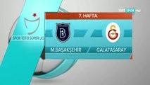Başakşehir - Galatasaray geniş özet