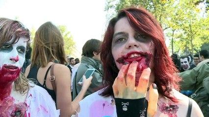 Les zombies envahissent Paris