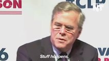 Jeb Bush Was Hugely Insensitive, And Wrong, About Mass Shootings