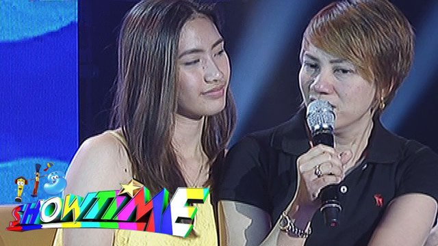 It's Showtime: Heart to heart talk between Mommy Pastillas and Pastillas Girl
