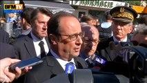 Intempéries sur la Côte d'Azur: 16 morts et 3 disparus, annonce Hollande