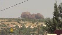 Al Jazeera team survives air strike in Syria's Idlib