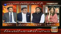 Hot Debate between Ali Mohammad Khan (PTI) and Daniyal Aziz(PMLN)