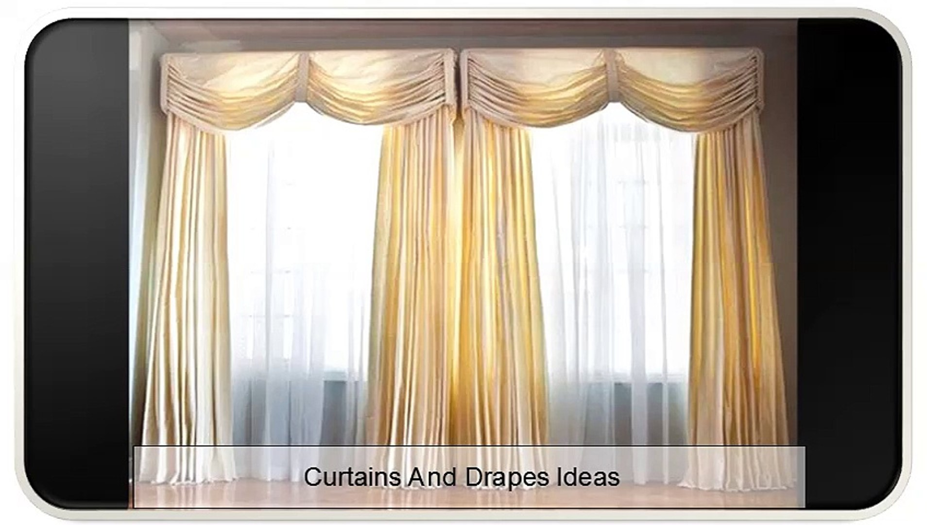 Curtains And Drapes Ideas Video Dailymotion