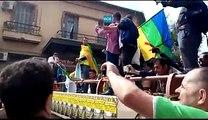 La marche populaire du 03/10/2015 organisée par le bureau régional de TIZI OUZOU (Kabylie)