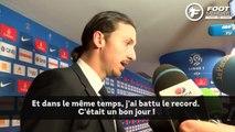 Zlatan Ibrahimovic réagit à son record historique avec le PSG